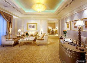 室內客廳效果圖 美式室內設計