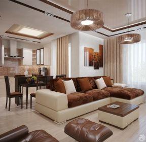 客廳簡約吊頂燈圖片-每日推薦