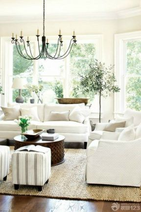 地中海风格客厅 简约风格装饰