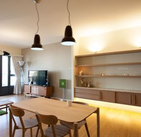簡約小戶型家庭裝修客廳背景墻-每日推薦