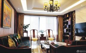 客廳博古架 古典風格裝修