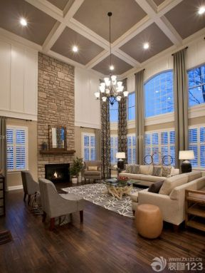 客廳設計圖 別墅客廳設計