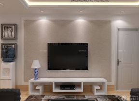 客廳影視墻效果圖 小客廳裝修效果圖片