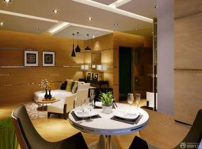 客廳餐廳吊頂 80平米裝修設計圖