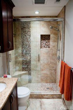 小户型浴室卫生间淋浴隔断