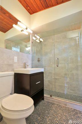 2017卫生间扇形淋浴隔断设计