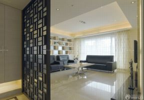 客廳屏風隔斷 簡約家裝風格