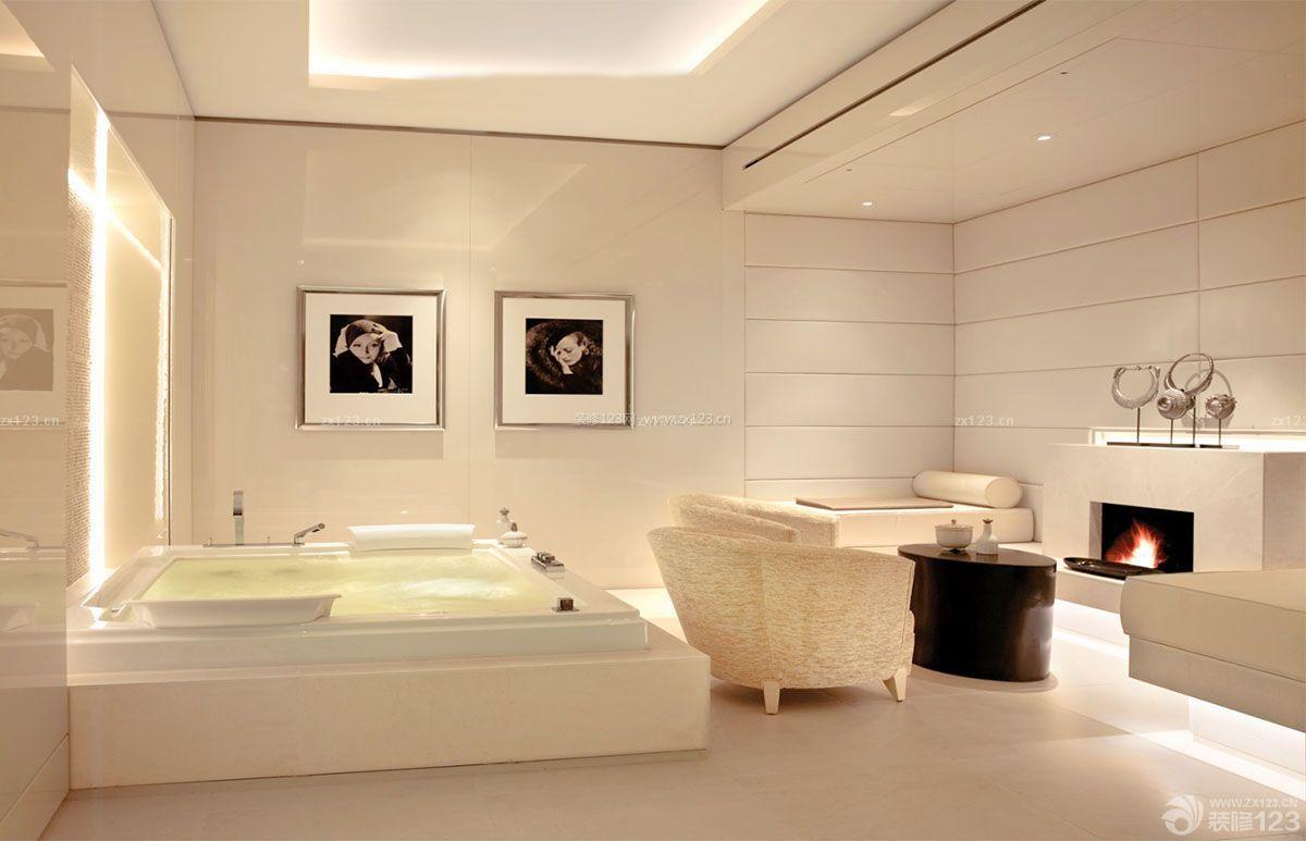 小型美容院大厅设计装修效果图片