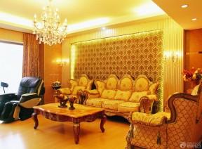 客廳墻面裝飾 客廳壁紙裝修效果圖
