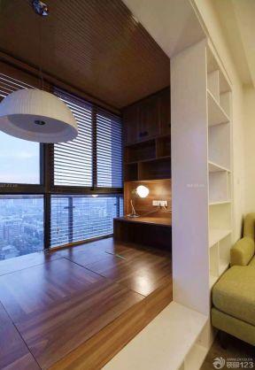 客廳陽臺隔斷 日式風格家裝