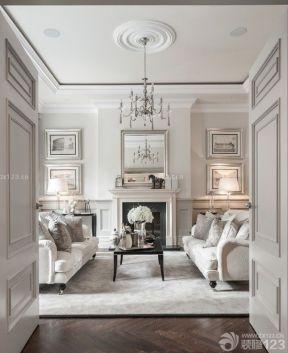 歐式客廳吊頂 現代歐式風格設計