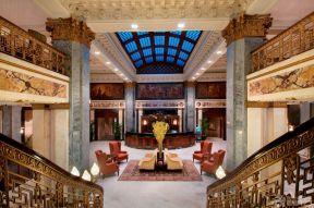 歐式客廳吊頂 歐式宮廷風格
