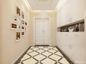 客廳玄關鞋柜效果圖 白色鞋柜