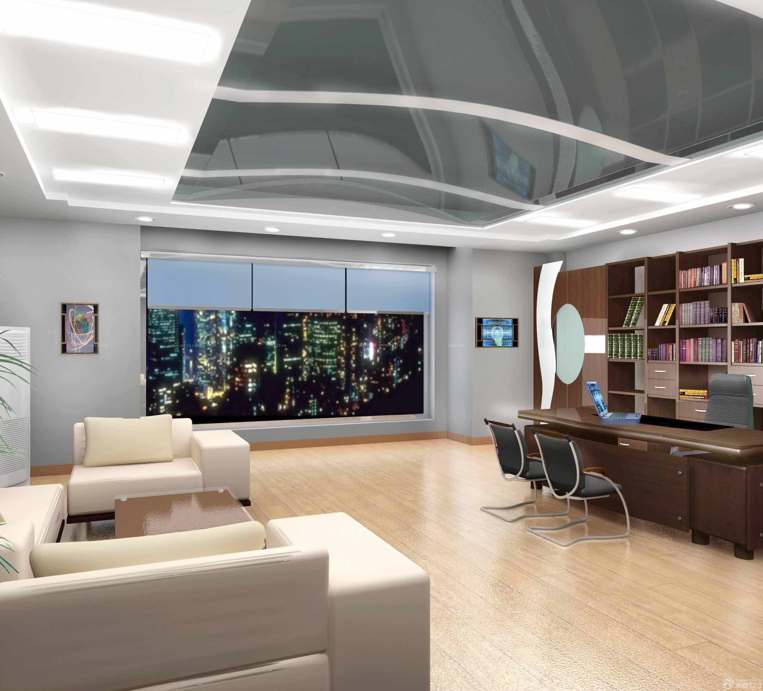 董事长办公室现代室内设计效果图片