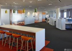 新公司小型辦公室吊頂設計裝修效果圖片