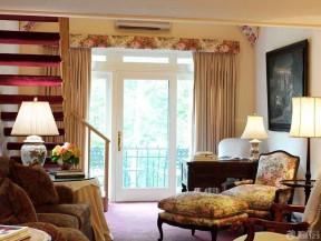 歐式客廳窗簾 田園歐式風格裝修