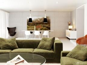 15平米客廳裝修 布藝沙發裝修效果圖片