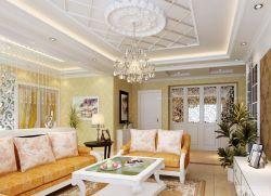 客廳吊頂裝飾設計圖