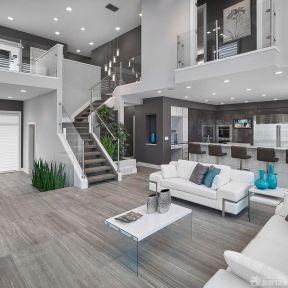 家裝客廳 躍層客廳裝修效果圖