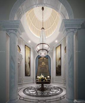 家裝客廳 豪華別墅裝修效果圖片