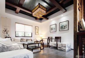 客廳吊頂設計圖 簡約別墅設計