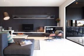 客廳電視背景墻圖 現代簡約裝修風格