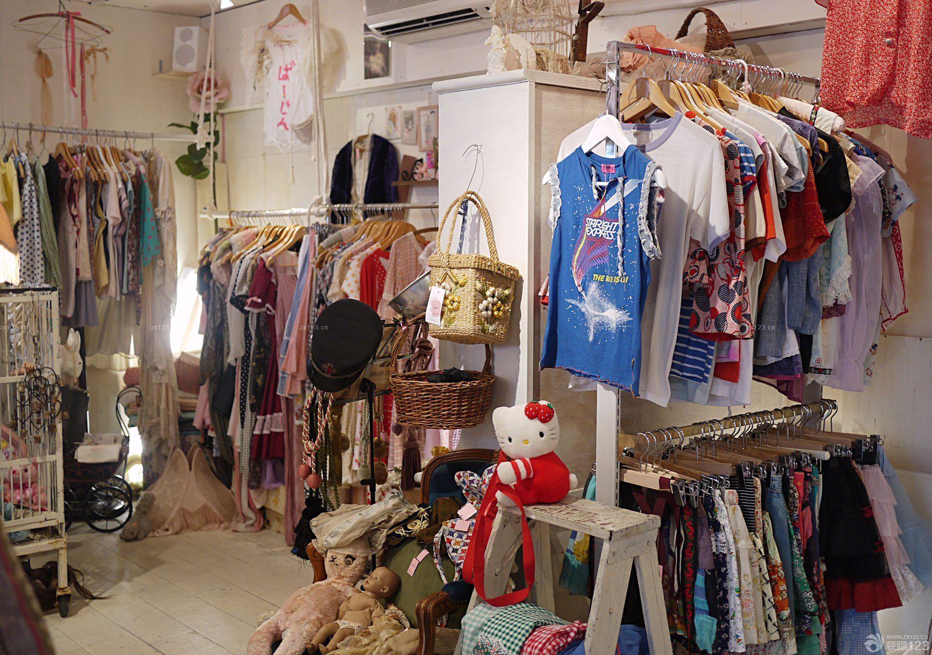 小型服装店室内装修效果图片