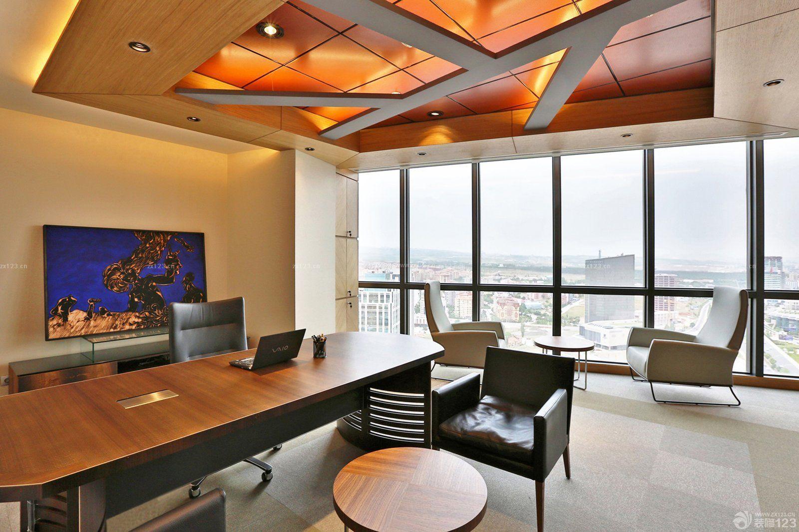 最新办公室背景墙设计效果图欣赏