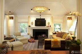 客廳吊頂造型效果圖 歐式裝修設計