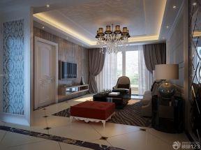 客廳吊頂造型效果圖 現代時尚裝修