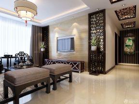 中式客廳吊頂效果圖 現代簡約裝修風格