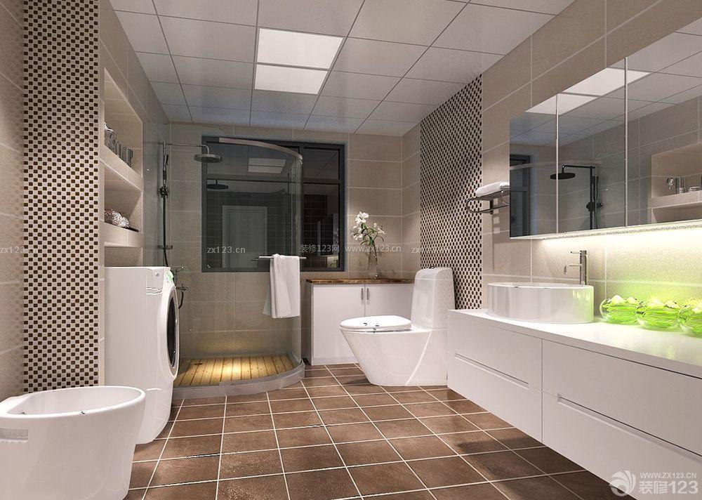 卫浴店面现代风格室内装修效果图片