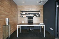 經理辦公室置物架裝修效果圖片