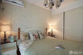卧室壁纸 现代美式风格