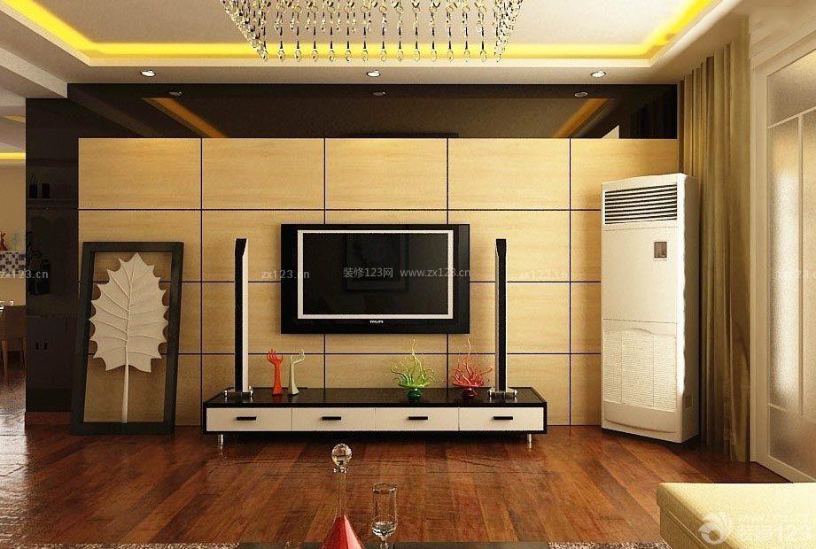 客厅电视机背景墙设计效果图图片