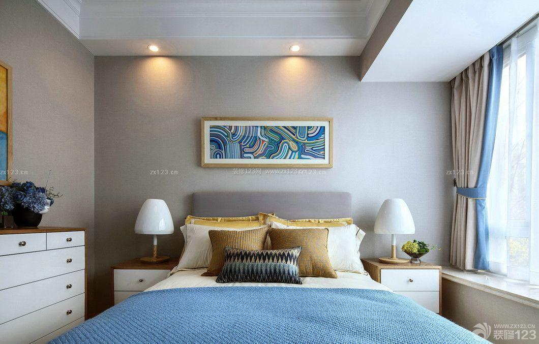 北欧风格卧室装饰画