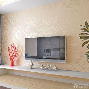 电视背景墙壁纸图片 硅藻泥背景墙图案印花