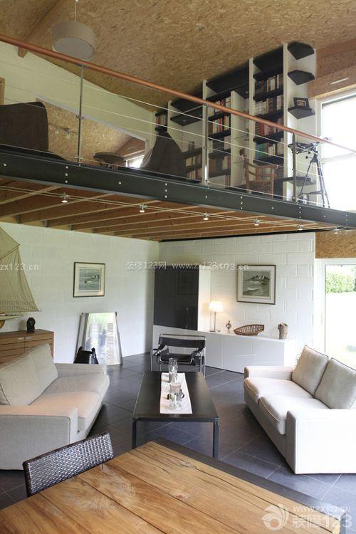 60平米loft单身公寓装修设计效果图