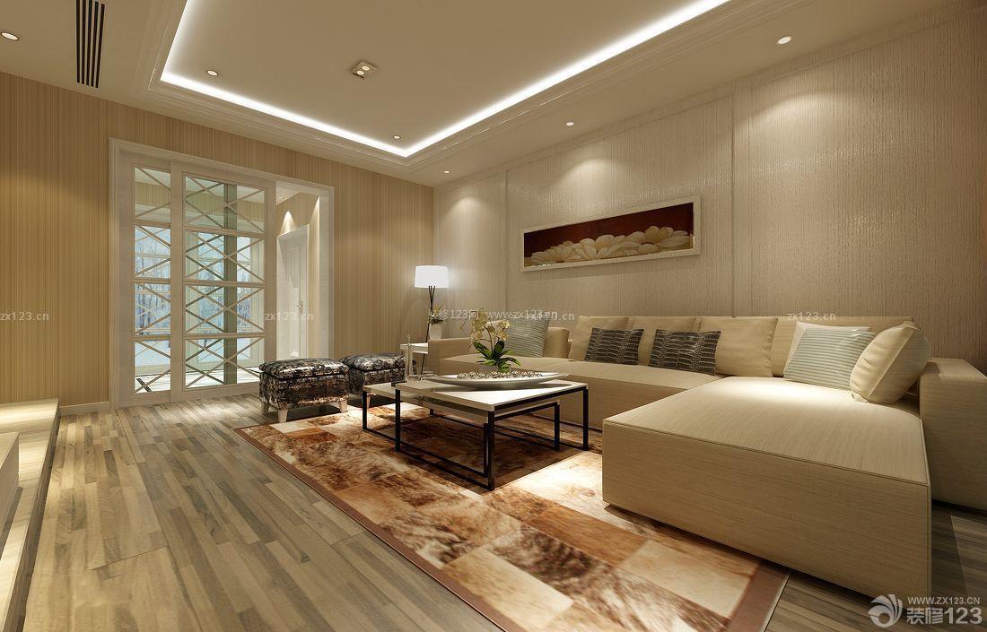 现代简约风格室内客厅设计效果图