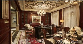 歐式奢華裝修效果圖 室內裝修效果圖欣賞