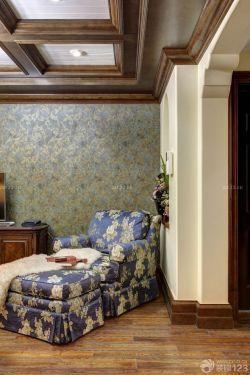 最新美式家居卧室懒人沙发装修效果图片