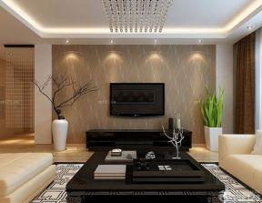 客廳天花板吊頂 現代簡約裝修風格