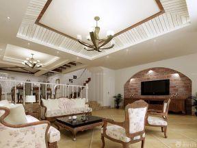 客廳天花板吊頂 歐式裝修設計