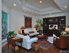 客廳天花板吊頂 古典裝修風格