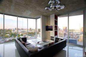 客廳天花板吊頂 極簡風格裝修效果圖