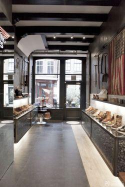 最新时尚鞋店室内地毯装修效果图片