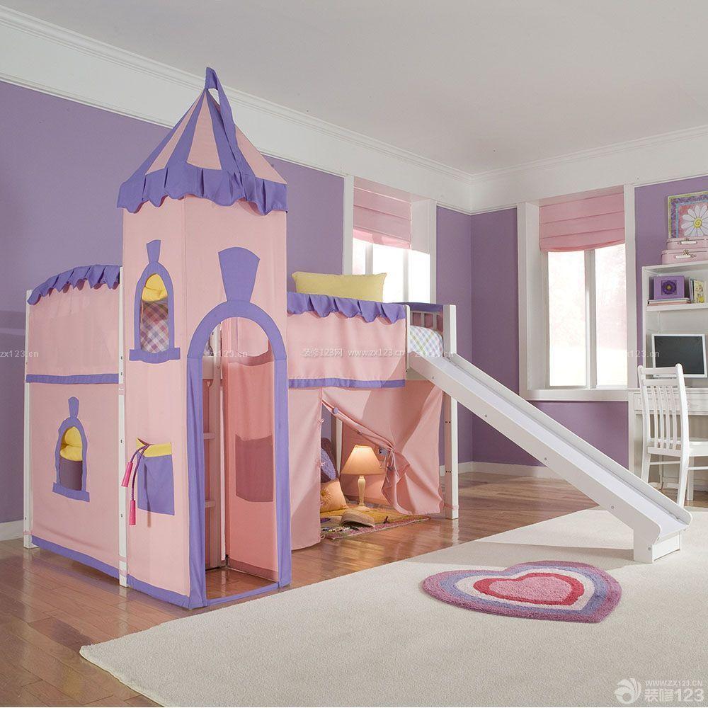 120平米复式家装儿童房装修设计图