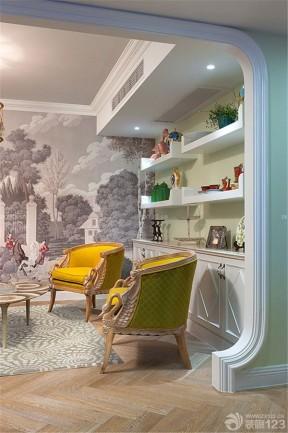 家庭別墅設計圖 家庭休閑區裝修效果圖片