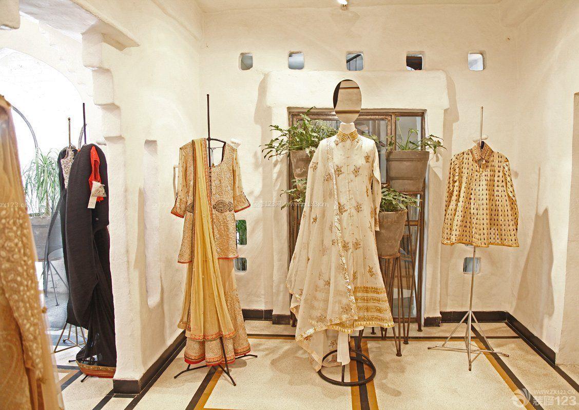 工装效果图 室内 特色小型服装店室内装修效果图大全 提供者