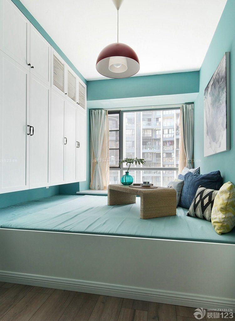 室内北欧风格榻榻米床装修效果图片